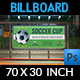 Soccer Billboard Template - GraphicRiver Item for Sale