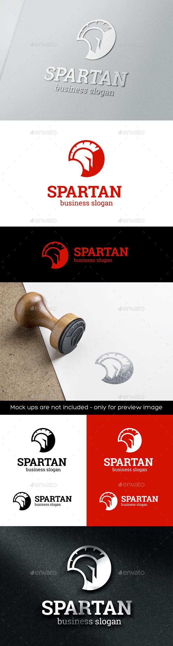 Spartan Head Logo Template - Humans Logo Templates