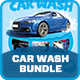 Car Wash Advertising Bundle Vol.2 - GraphicRiver Item for Sale