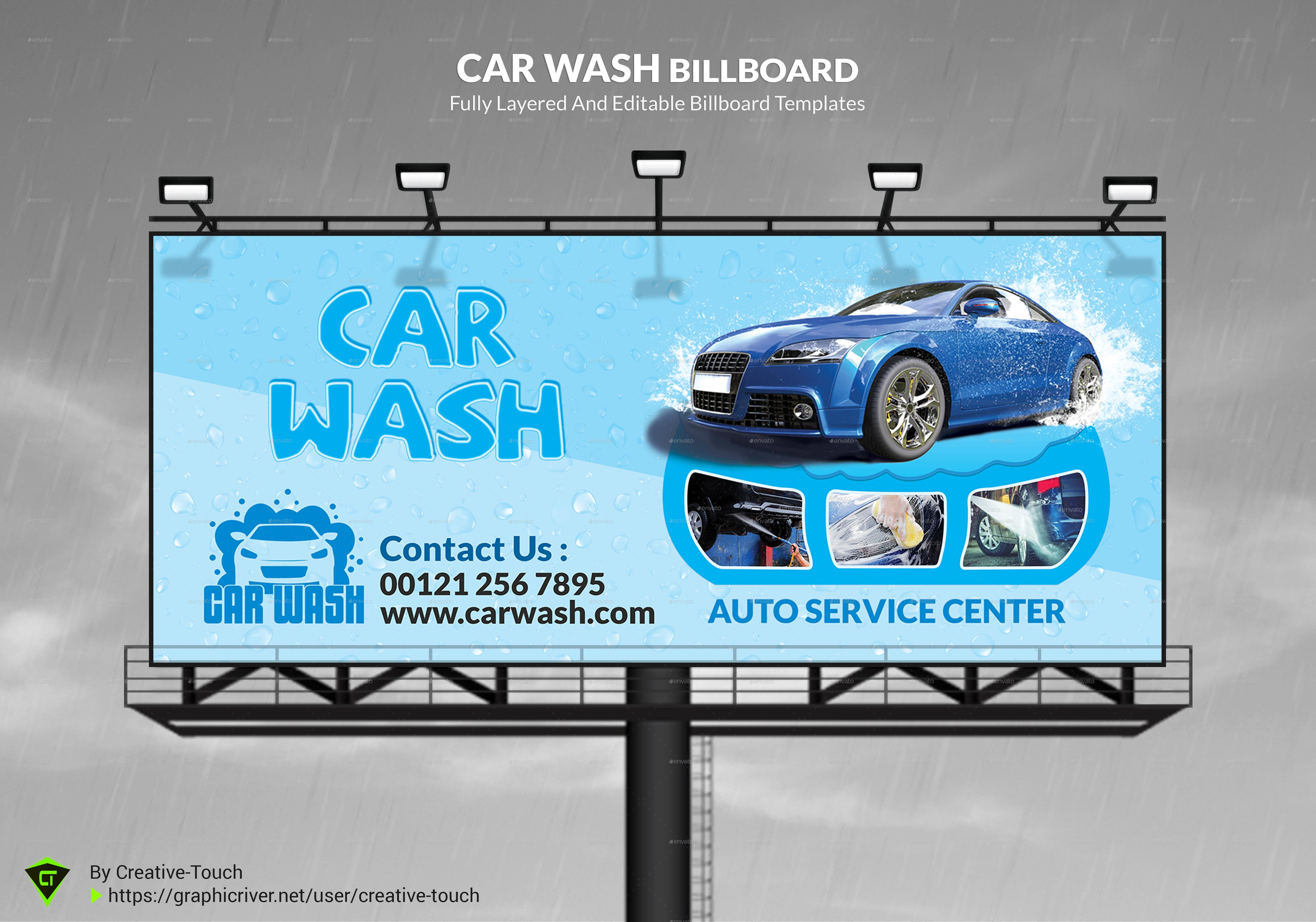 Smart Car Wash >> Car Wash Advertising Bundle Vol.2 by Creative-Touch | GraphicRiver