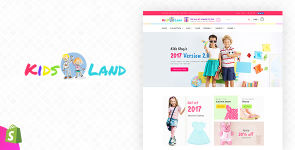 Image of Kids Store | Kids Clothing, Fashion Shopify Theme