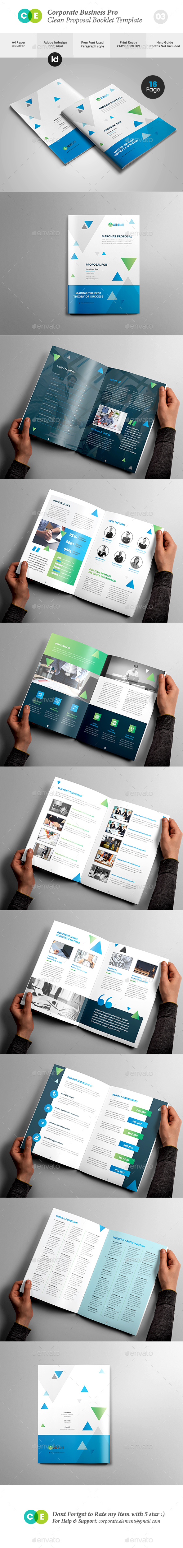GraphicRiver Corporate Business Pro Clean Proposal Template V03 20254471