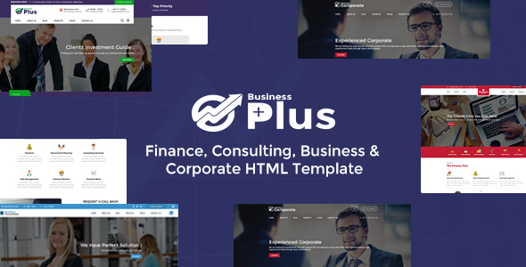 Business Plus HTML Theme - Finance Consultancy