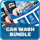 Car Wash Advertising Bundle Vol.3 - GraphicRiver Item for Sale