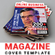 Business Magazine Cover Template