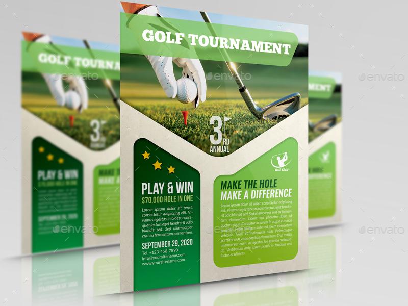 golf flyer template sports events 01_golf_flyer_templatejpg