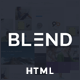 Blend - Multi-Purpose Responsive Website Template - ThemeForest Item for Sale