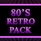 80s Retro Background Pack - VideoHive Item for Sale