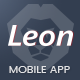 Leon - WordPress Mobile App Landing Page - ThemeForest Item for Sale