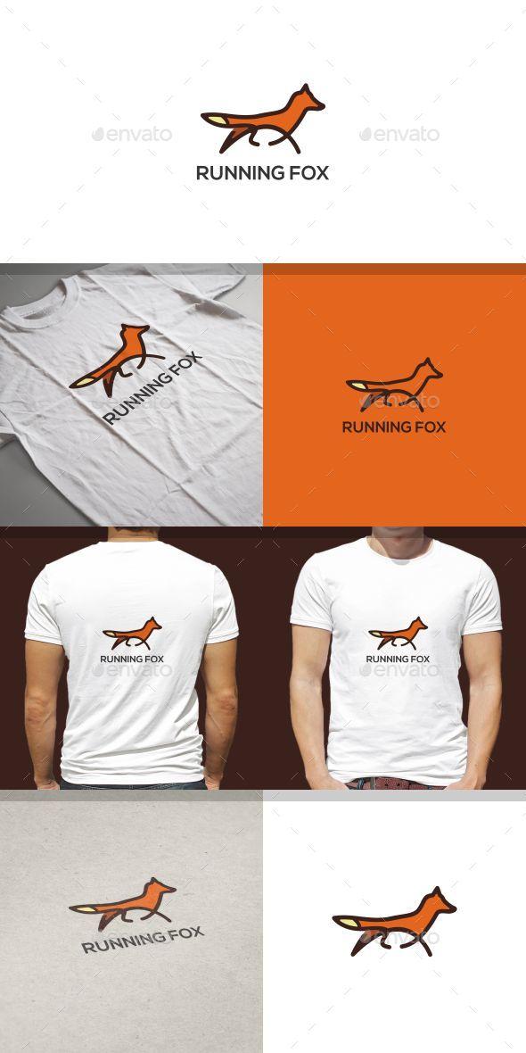 GraphicRiver Running Fox Logo Template 20191738
