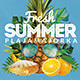 Fresh Summer Flyer Template - GraphicRiver Item for Sale