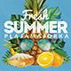 Fresh Summer Flyer Template