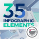 35 Corporate Infographic Elements - VideoHive Item for Sale