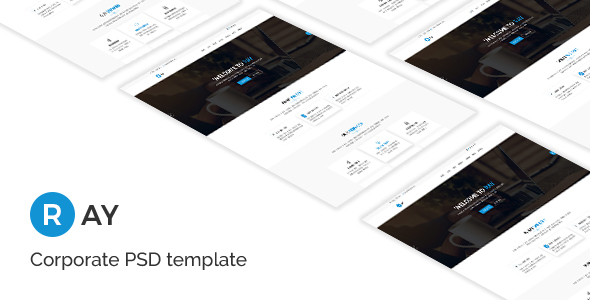 Ray - Corporate PSD Template - Marketing Corporate