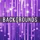 Purple Particles Rain - VideoHive Item for Sale