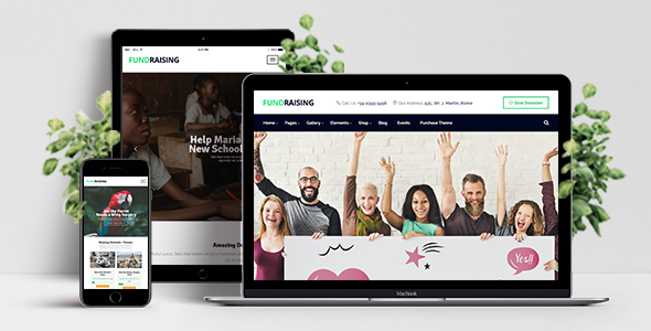 Image of Fundraising - Ultimate Charity/Donations WordPress Theme
