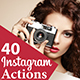All Instagram Filters - 40 Photoshop Action - GraphicRiver Item for Sale