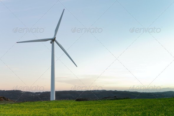 Wind turbine - Stock Photo - Images