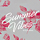 Summer Vibes Party Poster - GraphicRiver Item for Sale