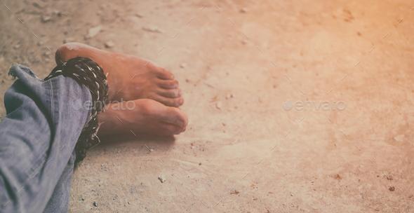 human trafficking - Stock Photo - Images