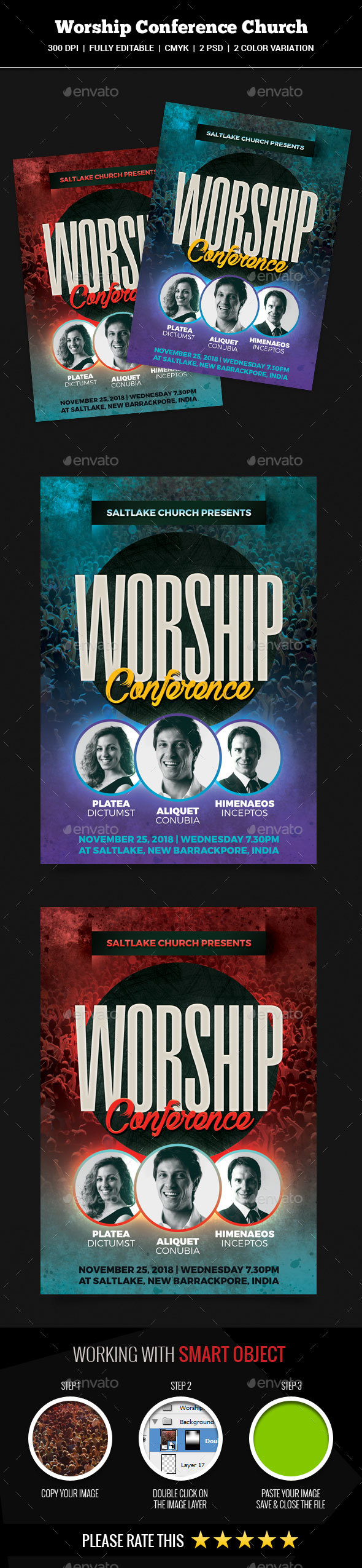 Worship Conference Church Flyer - Church Flyers