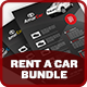 Rent a Car Advertising Bundle Vol.1 - GraphicRiver Item for Sale