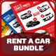 Rent A Car Advertising Bundle Vol.2 - GraphicRiver Item for Sale
