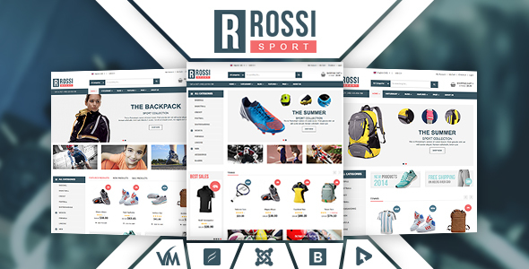 Vina Rossi - Responsive VirtueMart Joomla Template - Fashion Retail