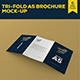 Tri-Fold A5 Brochure Mock-up 2 - GraphicRiver Item for Sale