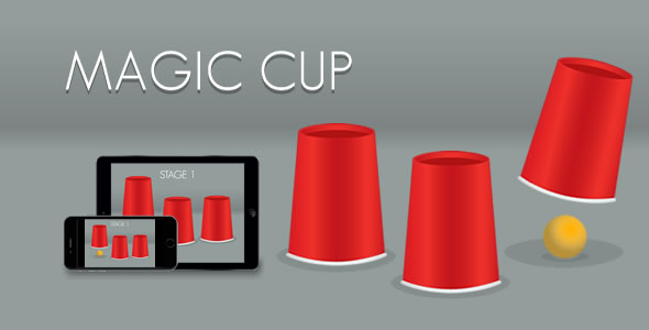 Magic Cup - HTML5 Game - CodeCanyon Item for Sale