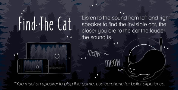 Find The Cat - HTML5 Game - CodeCanyon Item for Sale