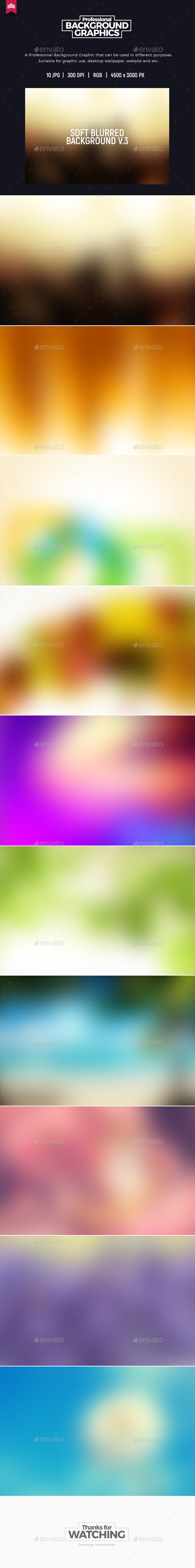 GraphicRiver Soft Blurred V.3 Background 20257493
