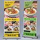 Restaurant Menu - Food Menu Roll-Up Banner