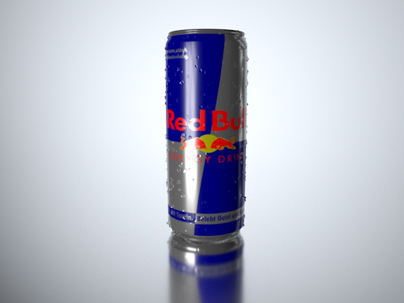 Mock-up / Energy Drink - PSD included - 3DOcean Item for Sale