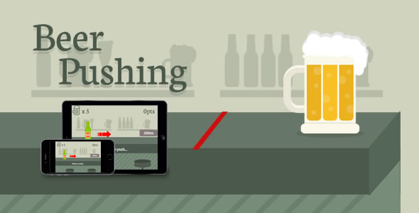 Beer Pushing - HTML5 Game - CodeCanyon Item for Sale