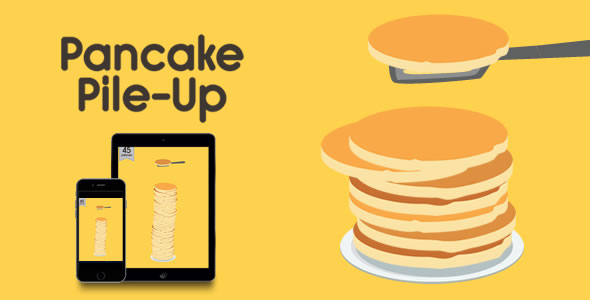 Pancake Pile-Up - HTML5 Game - CodeCanyon Item for Sale