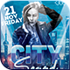 City Sounds Party Flyer - GraphicRiver Item for Sale