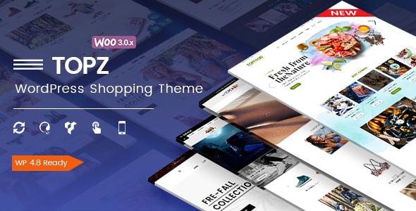 TopZ - Responsive Multipurpose WooCommerce WordPress Theme