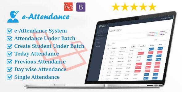 Laravel e-Attendance System