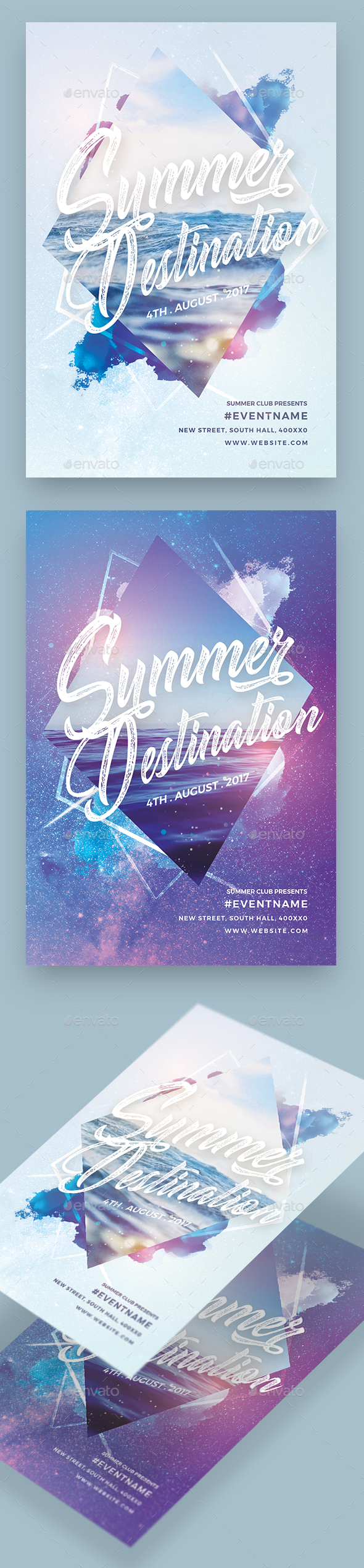 Summer Destination Party Flyer - Clubs & Parties Events