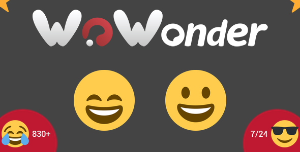 WoWonder - Emoji Add-On - CodeCanyon Item for Sale
