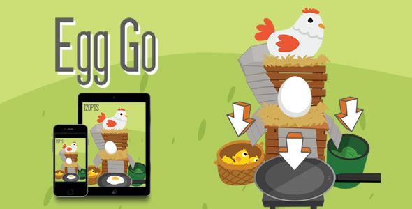 Egg Go - HTML5 Game - CodeCanyon Item for Sale