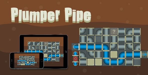 Plumper Pipe - HTML5 Game - CodeCanyon Item for Sale