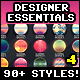 Designer Essentials Ultimate Precious Styles Vol.4 - GraphicRiver Item for Sale