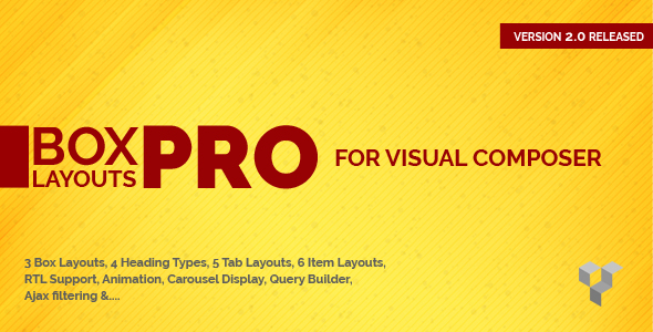 Pro Box Layout for Visual Composer : Displaying Post & Custom Post in a News & Magazine Style - CodeCanyon Item for Sale