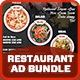 Restaurant Advertising Bundle Vol.2
