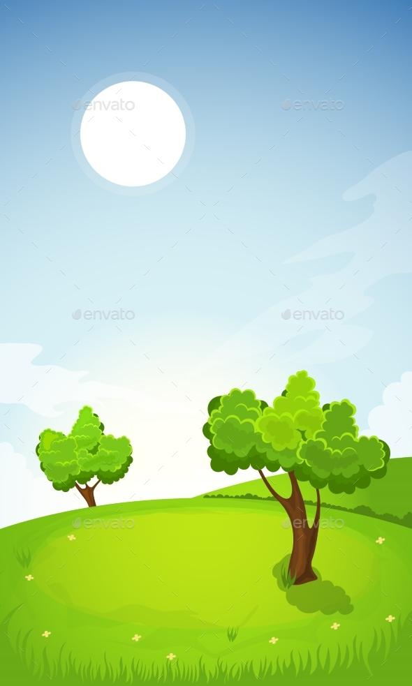 GraphicRiver Rural Summer Landscape 20259227