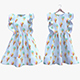 Fluffy Ice-Cream Dress - 3DOcean Item for Sale