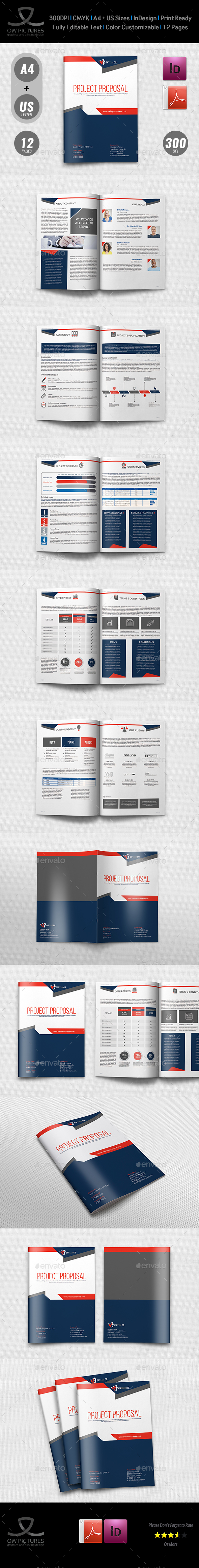Company Proposal Template Vol.4 - Corporate Brochures