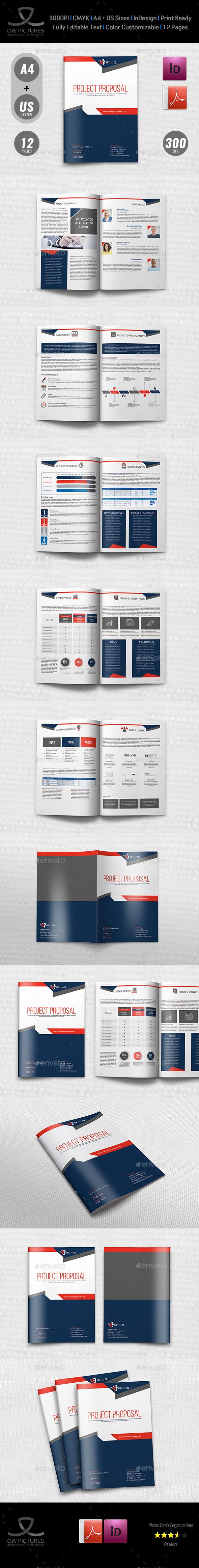 Company Proposal Template Vol.4 - Corporate Brochures